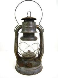 Antique Dietz No.2 D-Lite Kerosene Oil Lantern Railroad ...