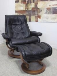 Ekornes Stressless Recliner Chair Modern Leather LARGE ...