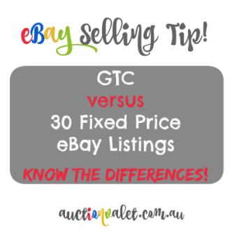 GTC versus 30 day listing differences