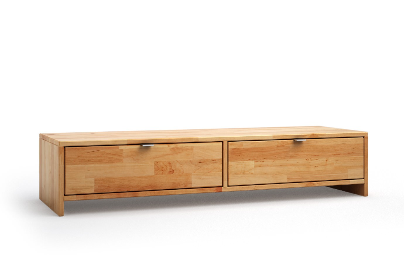 Highboard Vollholz Vollholz Sideboard Trendy Kommode Gelaugt Gelt Kiefer