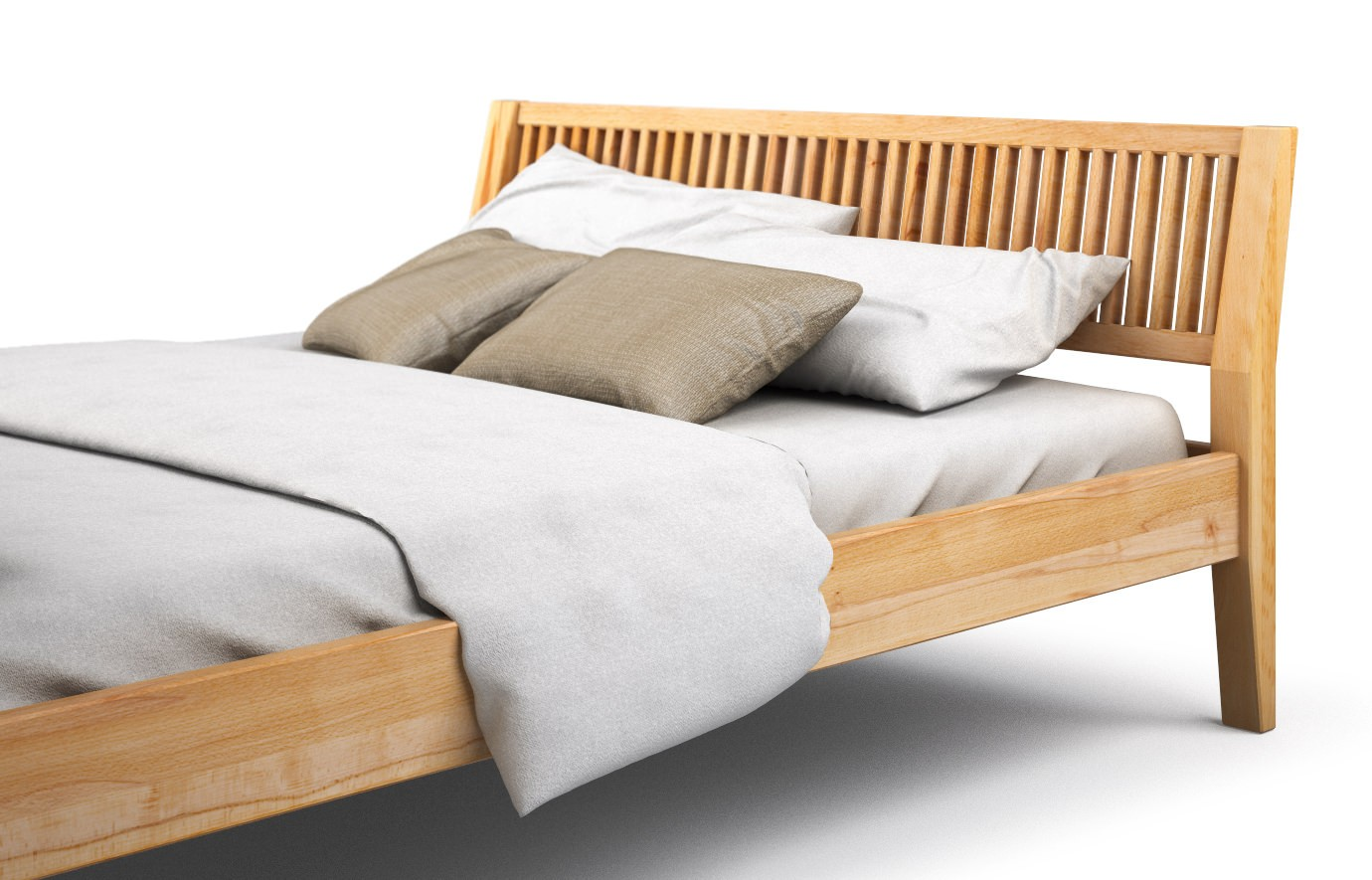 Bett Massiv Holz Bed Frame With Lights Beautiful Betten 140 Cm