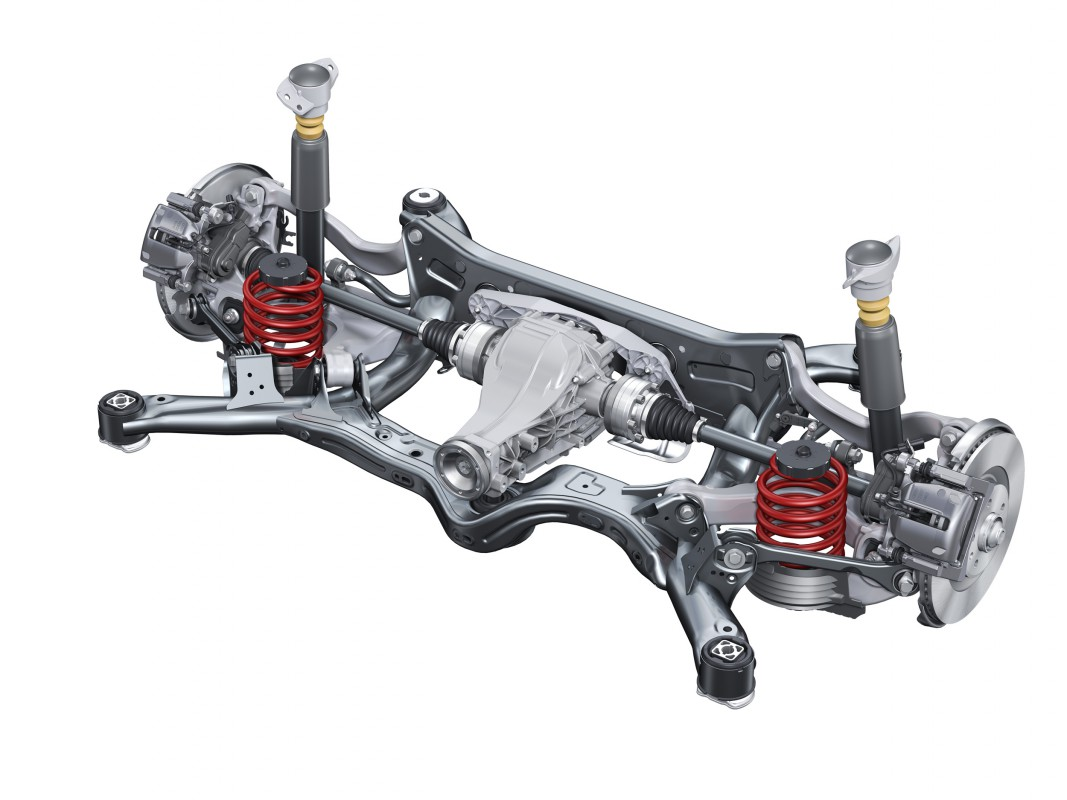 Suspenssion Rear Suspension Audi Technology Portal