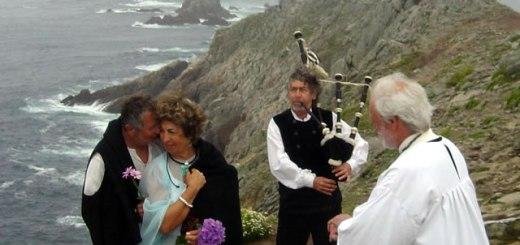 Mariage druidique à la Pointe du Raz