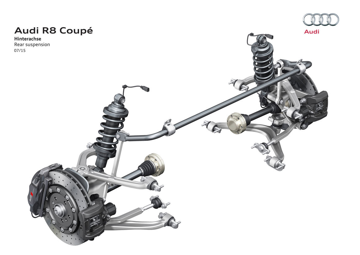 Suspension Design Pdf Audi R8 Audi Mediacenter