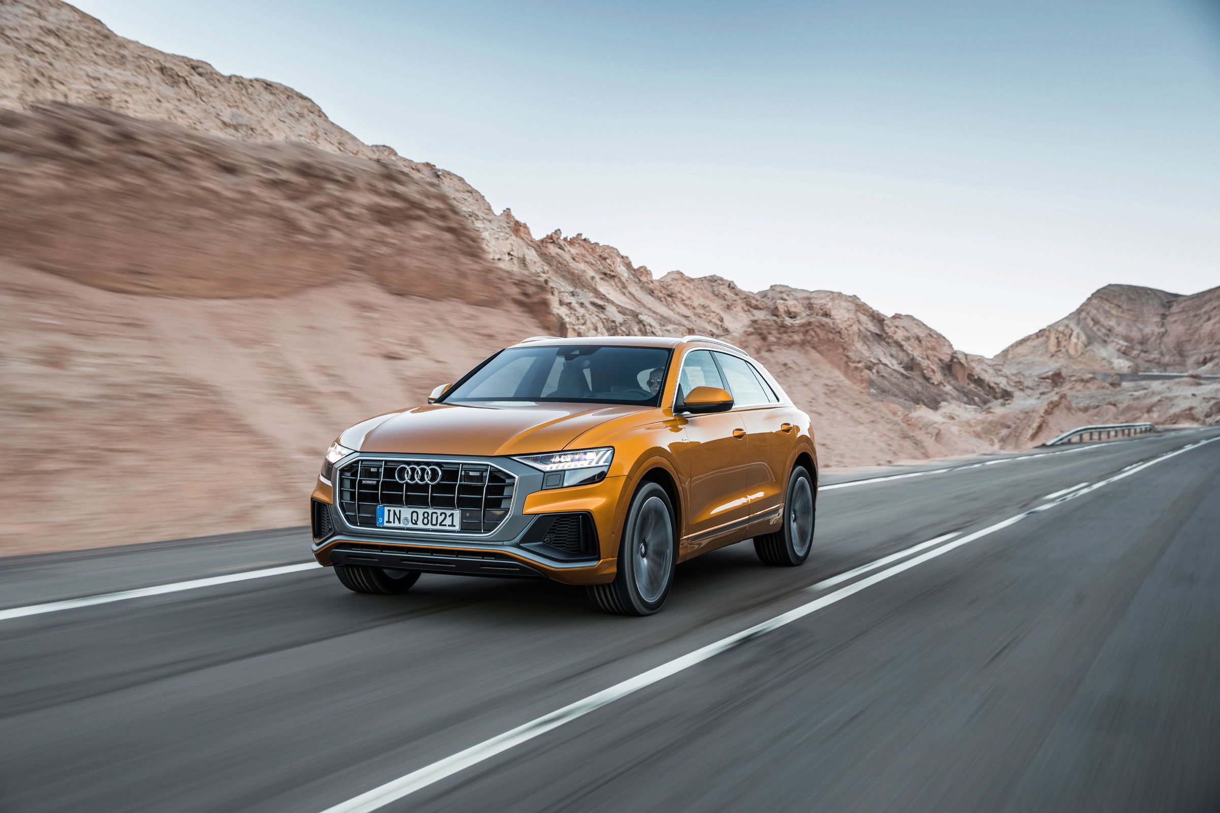 Garage Audi Tours The New Top Model Of The Q Family Audi Q8 Now Available To Order
