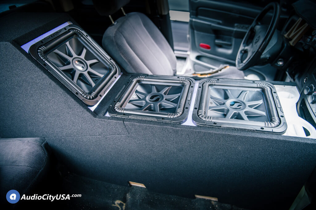 "Kicker 10 Subwoofers 3 12"" Kicker Solo Baric L7 Subwoofers 