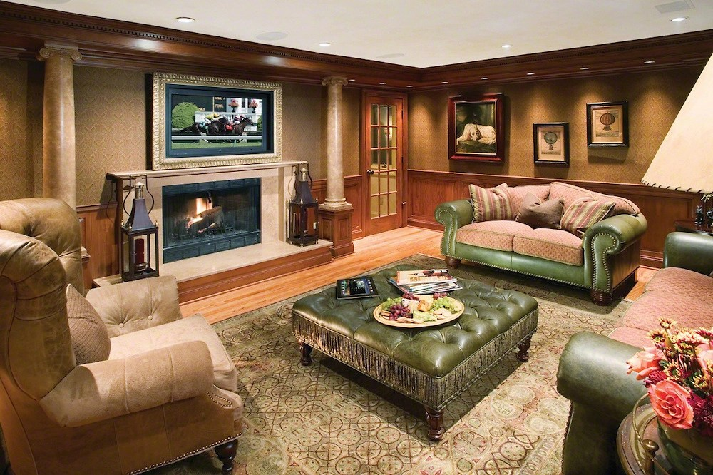 Theater Room Ideas The Hidden Home Theater: Hiding Surround Sound In An Older