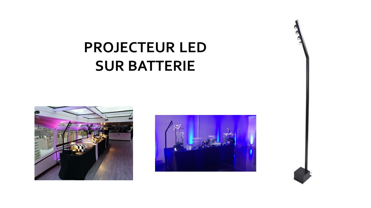 Spot Led Exterieur Batterie Audio Light Mwm Global Event Solution Location Sonorisation