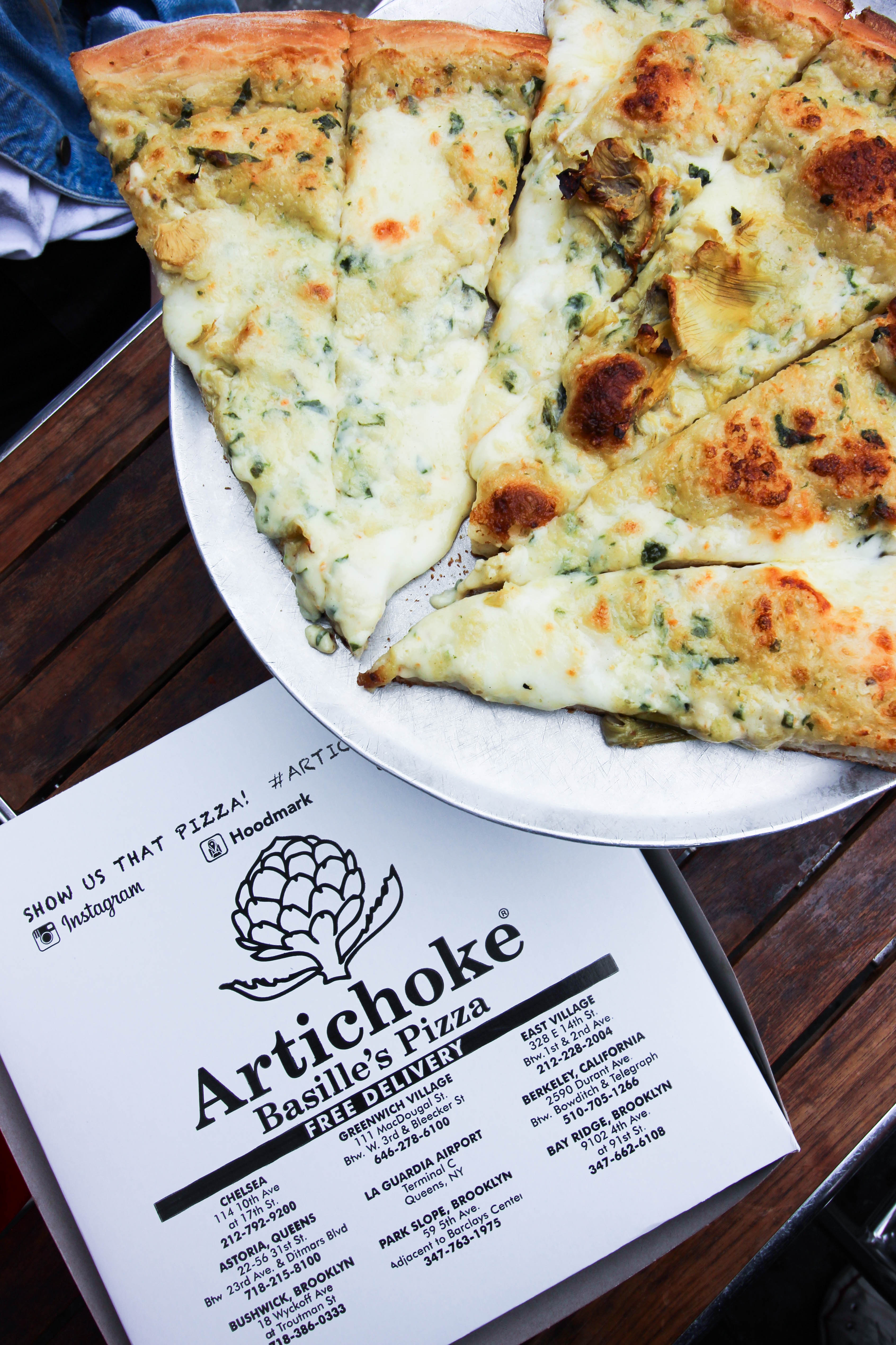 Cucina Pizzeria Blue Ridge New York City Pizza Guide Simply Audree Kate