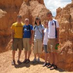 Merkets and Willeitners at Bryce Canyon