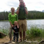 Family picture at Bierstadt Lake.