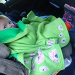 Ellen got cold in the morning. She wanted to be in her car seat.