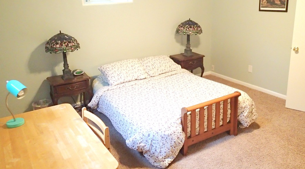 """""""New"""" guest room."""