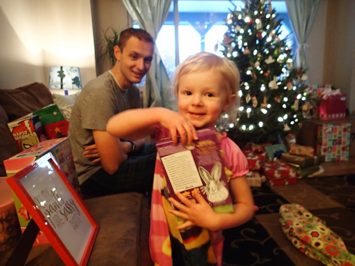 Ellen was so excited about all of her gifts and had some great reactions.