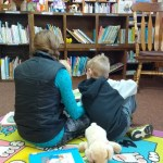 It's completely fine with me that our kids love books.