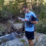 The trail was so ambiguous that Noel had to GPS locate us and cross reference a topo map to figure out where we were.