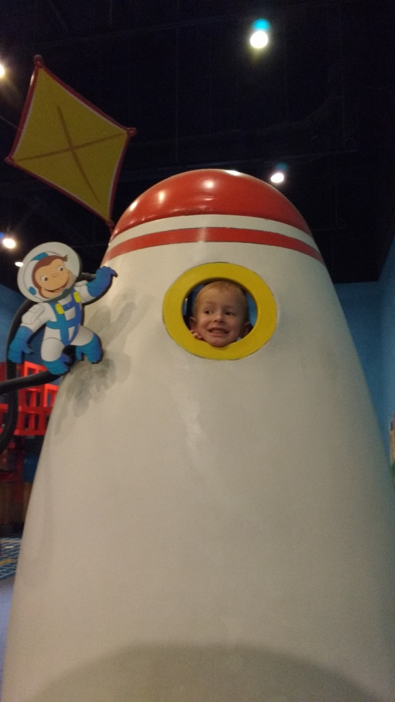 Cooper goes to space!