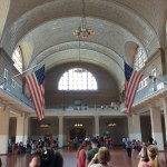 The Registry room at Ellis Island.