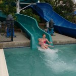 """We like going to the pool during their cheap """"twilight hours."""" Both times it closed early for lightning, but we still got plenty of slide riding in before hand."""