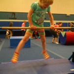 I was never a gymnast so I don't know if she has an aptitude, but will probably let her try a month of classes.