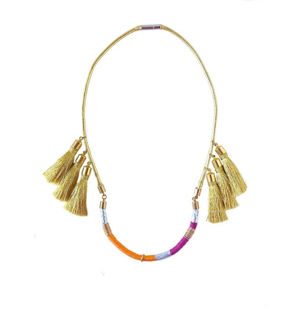 Wanna Wanna Wednesday: Fan Necklace from Purposerosa