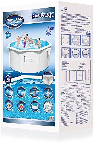 Sandfilteranlage Pool Winter Aufstellpool - Bestway - Hydrium Pool-set Mit Sandfilter