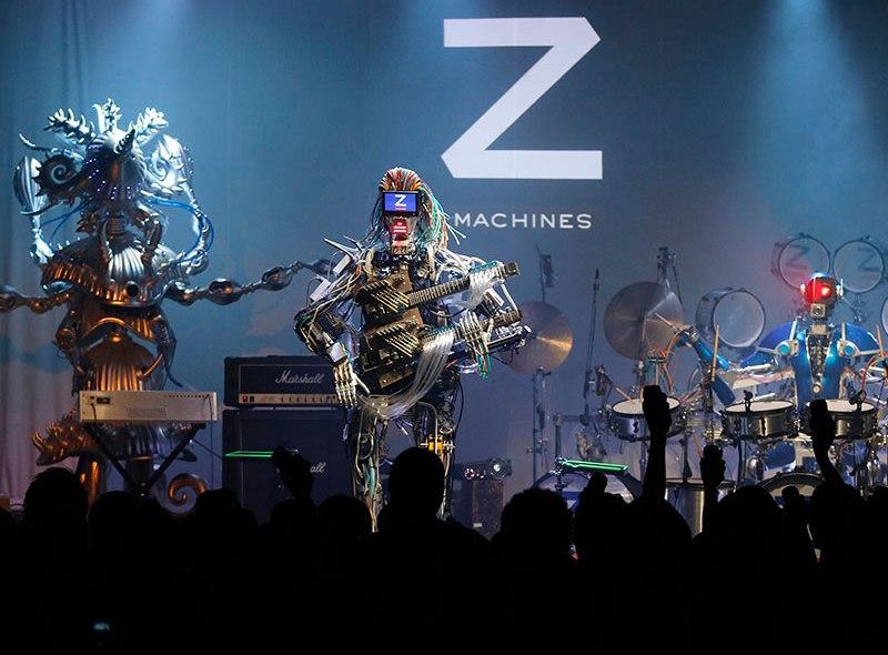 Z-Machines – kapela robotów