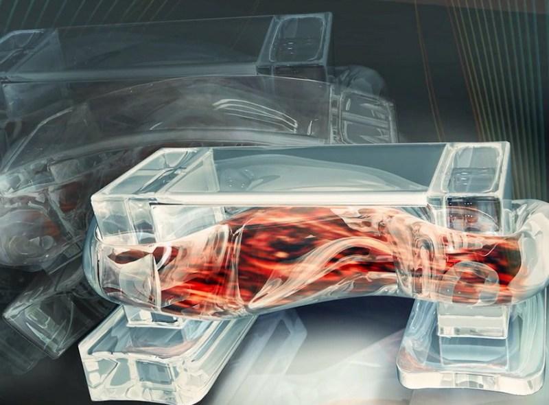 Biobot napędzany mięśniami