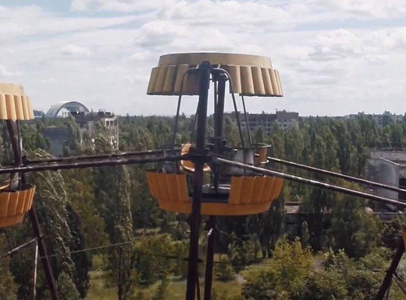 Czarnobyl z lotu drona