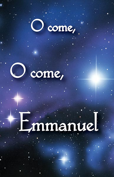 Augsburg Shopping Oh Come, Oh Come, Emmanuel: Advent Bulletin: Quantity Per