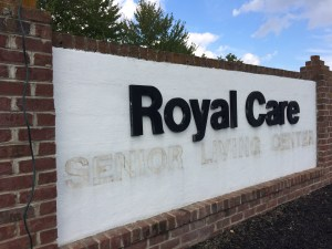 Changing Letters on Entrance Signs
