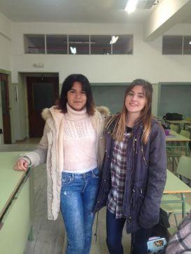 Karen y Alicia, dos alumnas comprometidas comprometidas con los animales.