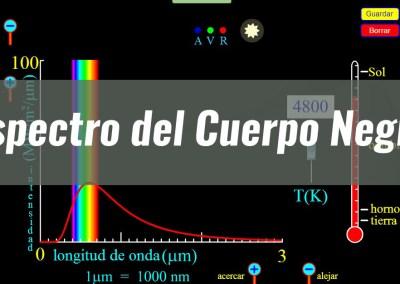 Espectro del Cuerpo Negro