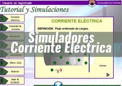 Simulaciones Corriente Eléctrica