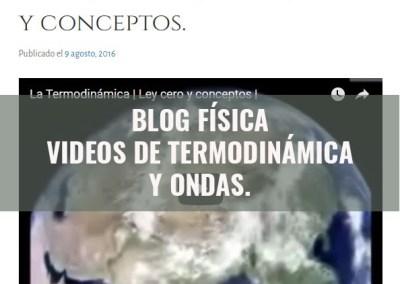 Blog de Física: VIDEOS ONDAS Y TERMODINÁMICA.