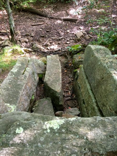 peg mill brook sluiceway