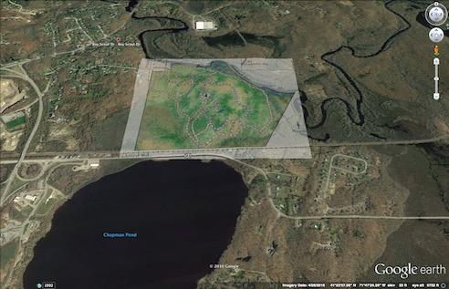 Riverwood Trails on Google Earth