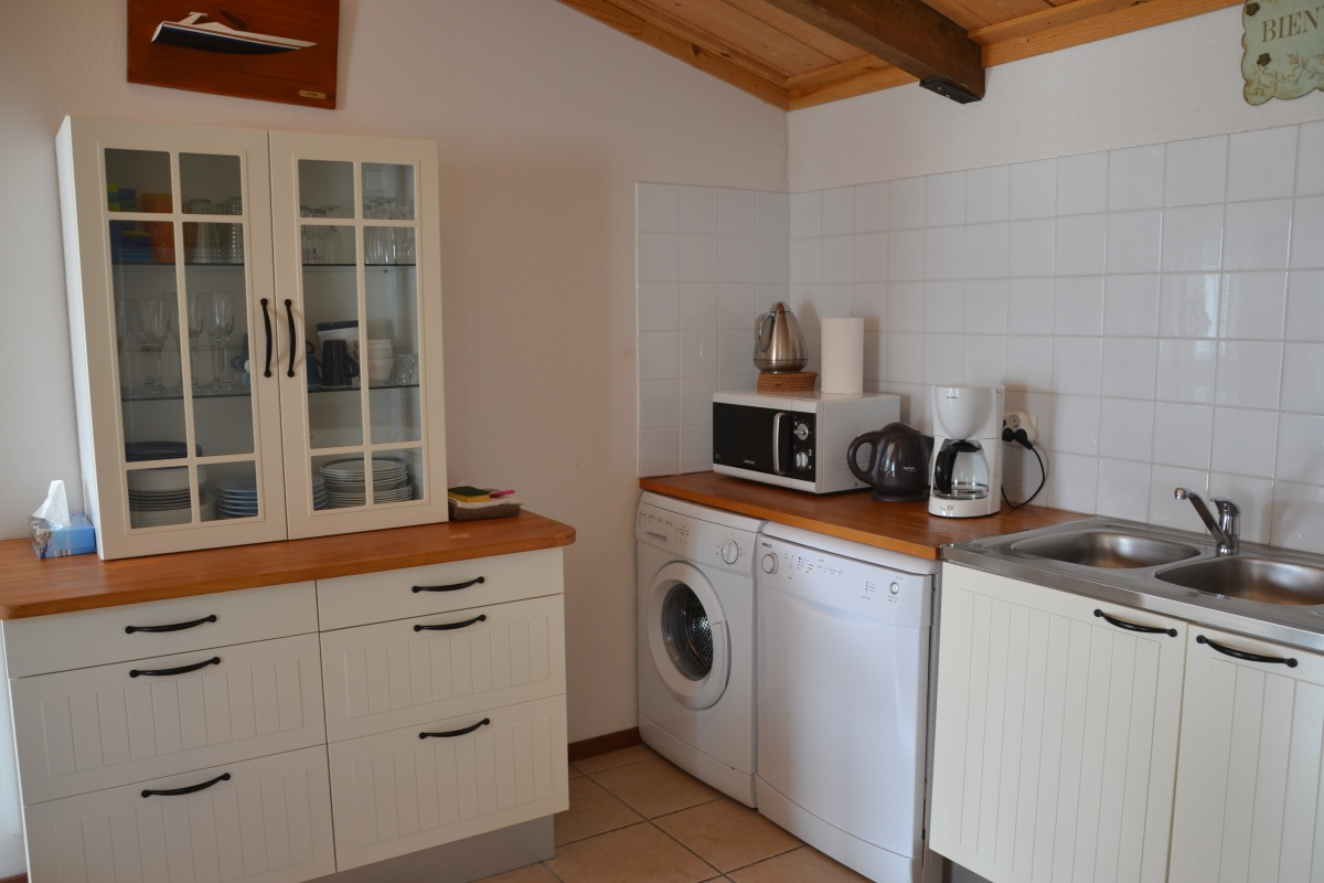 Atlantic Keuken Large Holiday Cottage On The French Atlantic Coast In The Vendée