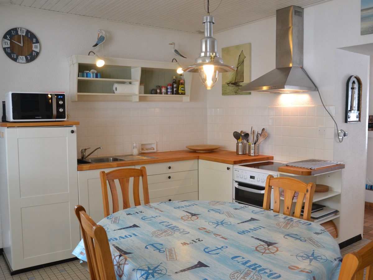 Atlantic Keuken Holiday Home For 6 Persons On The Atlantic Coast In The Vendée France