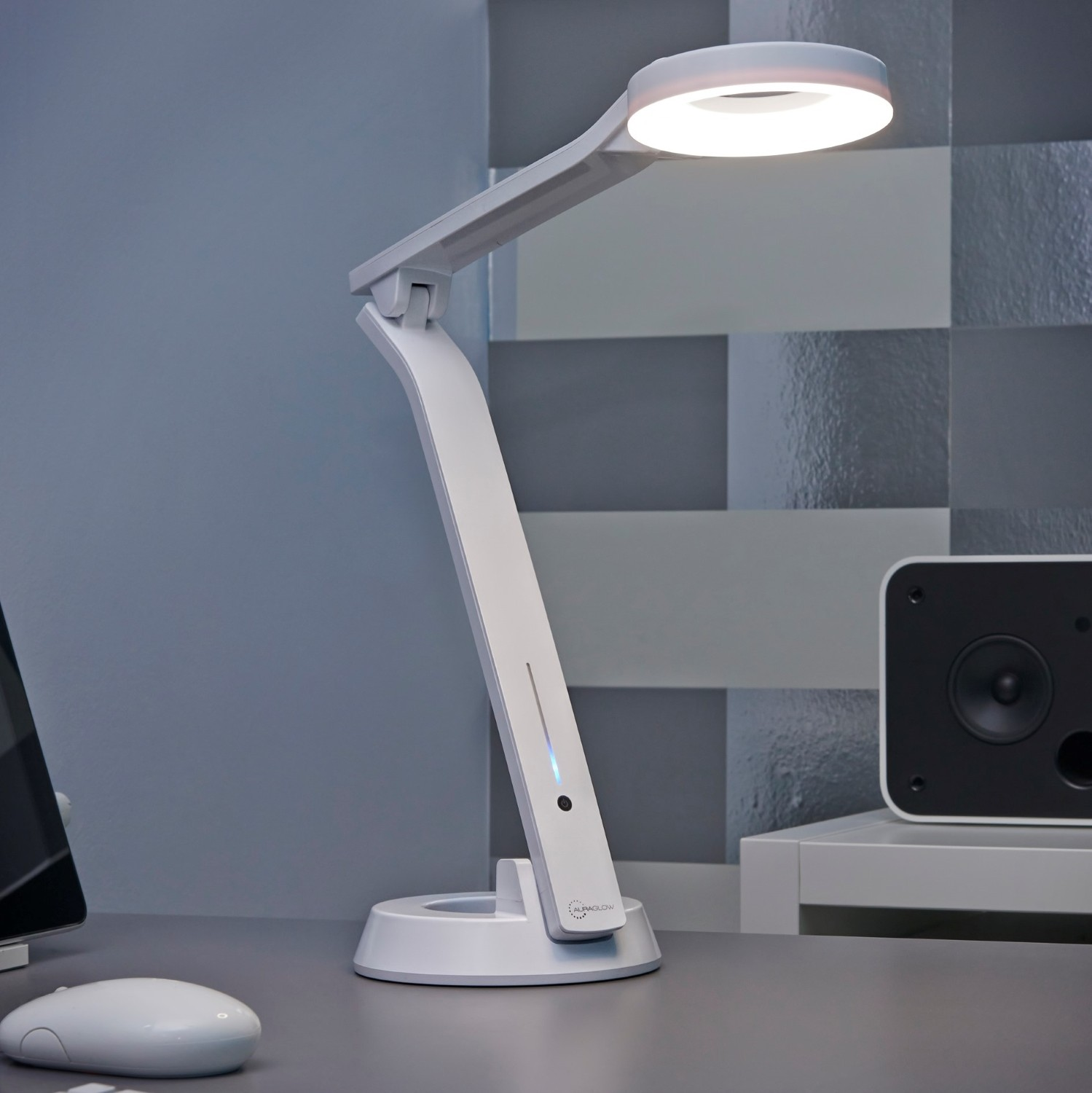 Touch Dimmable Lamps Led Halo Desk Lamp For Office And Home Get The Light