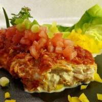 Enchiladas mit Hähnchen