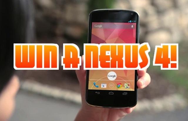 win-a-nexus-4