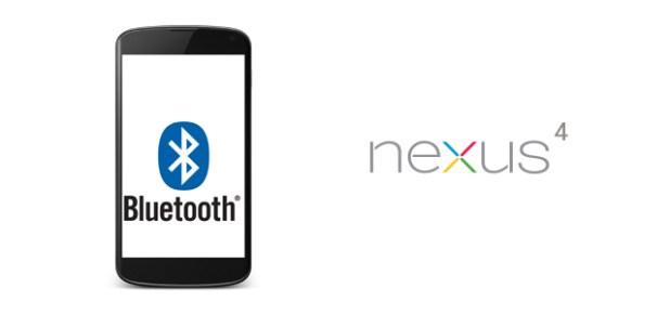 Nexus 4 - Bluetooth