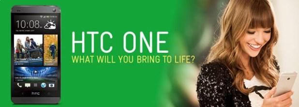 Telstra HTC One