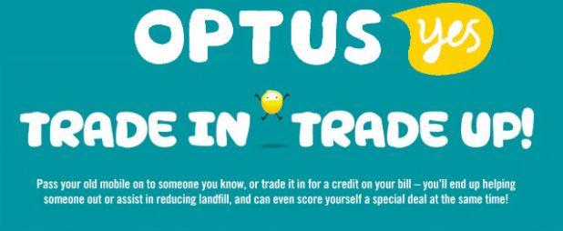 Optus - Trade In