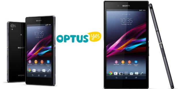 Optus Z1 and Z Ultra
