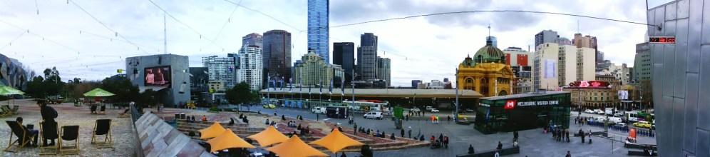 Panorama - Federation Square