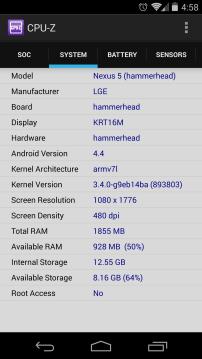 CPU-Z SYSTEM