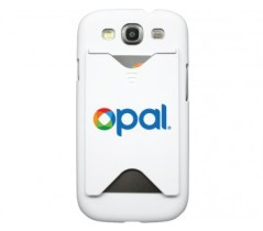 White Galaxy S3 Opal Cover