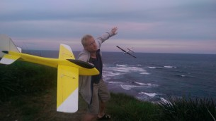 Remote control gliders @ Dee Why